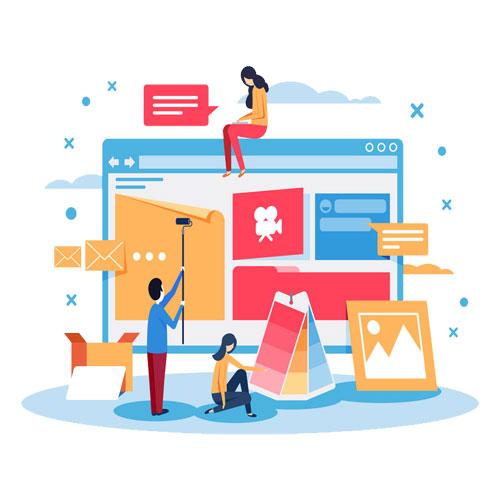 تولید محتوا برای وب سایت
