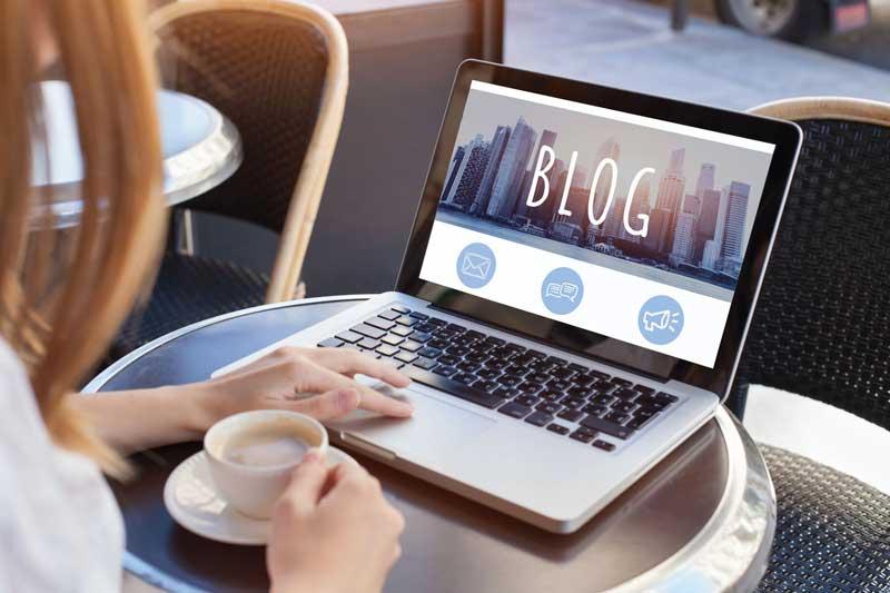 6 دلیل اهمیت وبلاگ نویسی در سایت